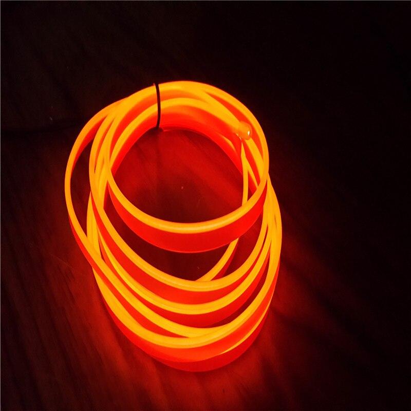 1M Ευέλικτη EL Neon Glow Εσωτερική Φωτισμός - Φώτα αυτοκινήτων - Φωτογραφία 3