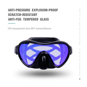 Image 2 - Professional Scuba Diving Masks Silicone Masks Snorkel Anti fog Diving Mask Snorkel Full Dry Tube Underwater Swimming Equipment