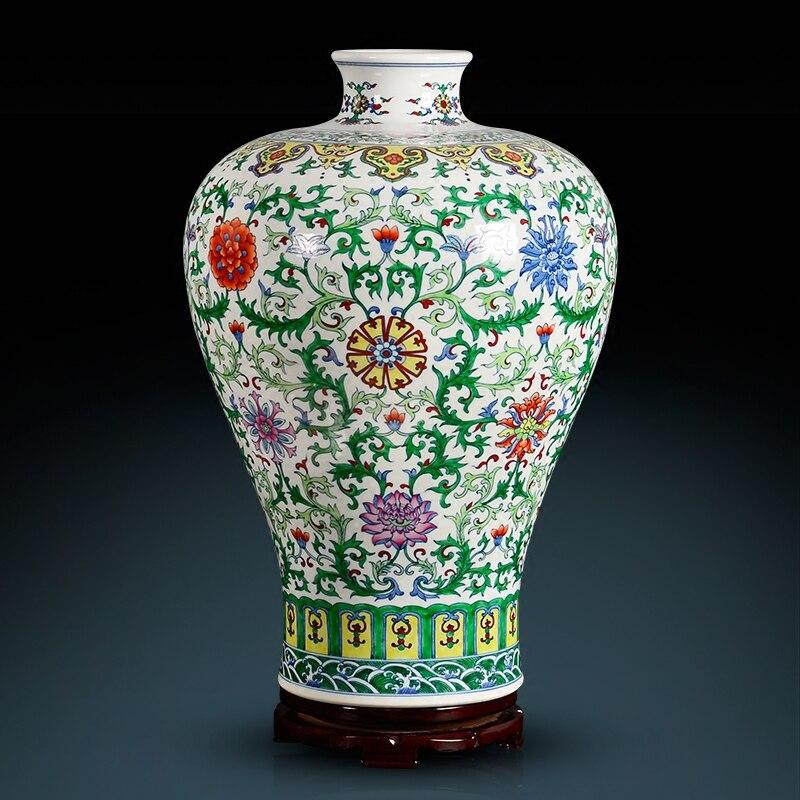 Pastel Lotus Plum Tabletop Flower Vase - Home & Garden