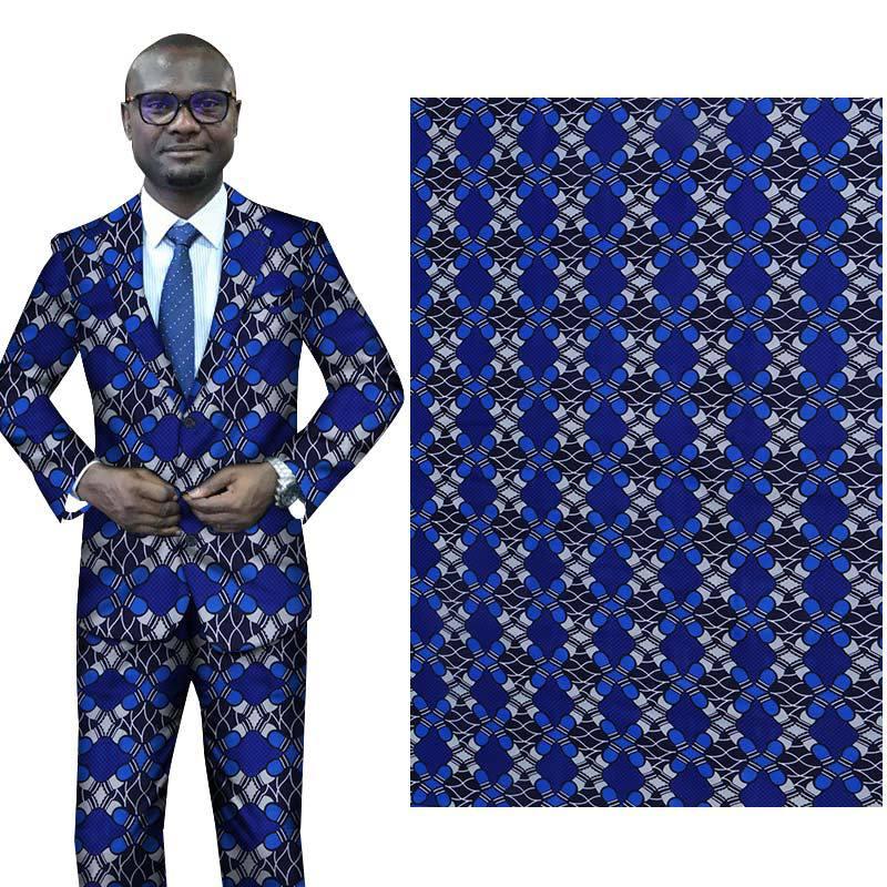 6 Yards African Ankara Fabric Veritable Wax Prints Breathable African Fabric Batik For Women Men Party Dress
