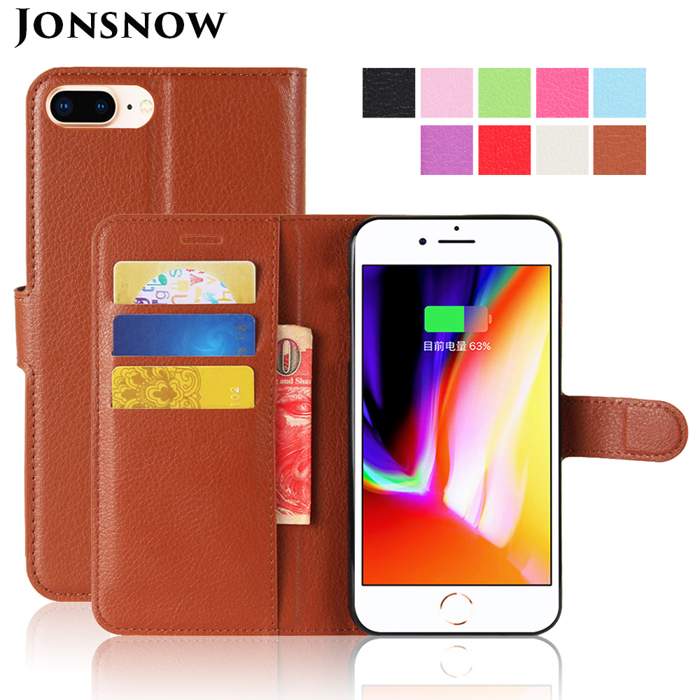 KIP7P1146_1_Litchi Texture Leather Case with Card Slots & Stand for iPhone 7 Plus