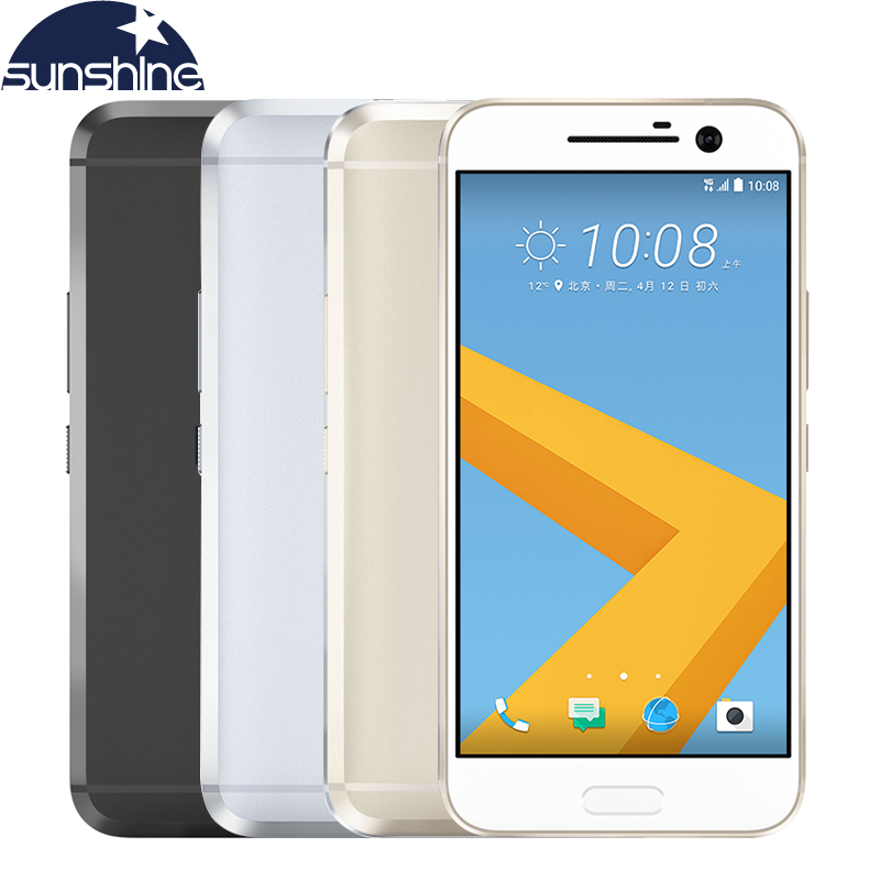 Original HTC 10 M10 Quad Core LTE Mobile phone 5 2 12 0MP 4G RAM 32G