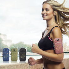 Lightweight Breathable Soft Armband 4.0 to 6.2 inch Mobile Phone Sport Running Case Arm Band Pouch Bag Waterproof
