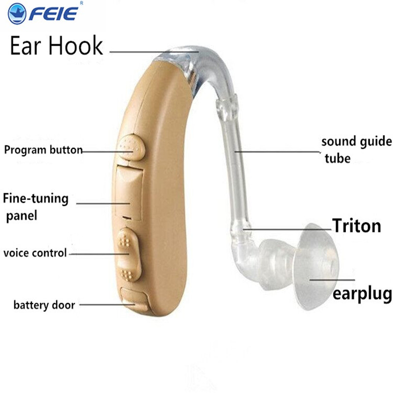Medical Apparatus Auditory the ear Hearing Device S 303 Digital Chip Process Hearing Aid free shipping
