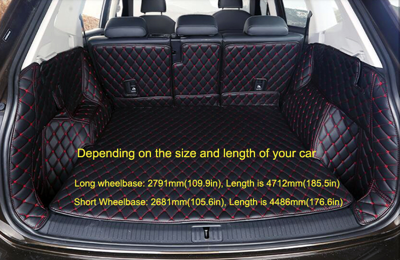 2017 2018 for vw volkswagen tiguan interior accessories car boot pad carpet cargo mat trunk. Black Bedroom Furniture Sets. Home Design Ideas