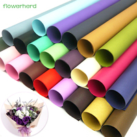 10Pcs Bag 60x60cm120gsm Thick Colorful Kraft Paper Flowers Packaging Flower Gift Wrapping DIY Cards Handmade Material