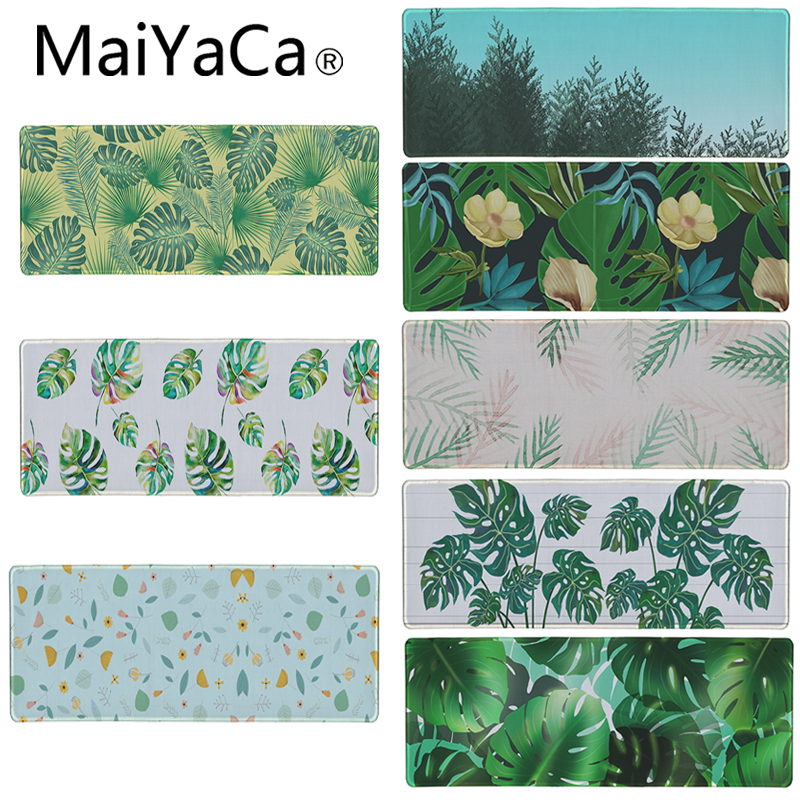 maiyaca league of legends mouse pad locked edge pad to mouse notbook computer mousepad 90x30cm gaming padmouse gamer best seller MaiYaCa Forest Leaf Flower Mouse pad High-end pad to Mouse Notbook Computer Mousepad Gaming Padmouse Gamer to Laptop Keyboard