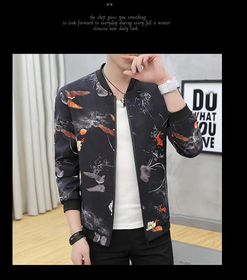Bomber Jacket Men 2019 Autumn Mens Pilot Jacket Sportswear Bomber Jacket Fashion Casual Mens jackets Coats Outwear Windbreaker