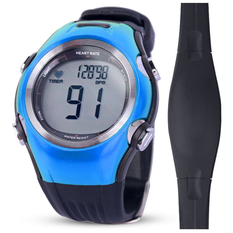 Fitness Tracker Heart Rate Monitor Sports Polar Watches Digital Wireless Running Cycling Chest Strap Men Women