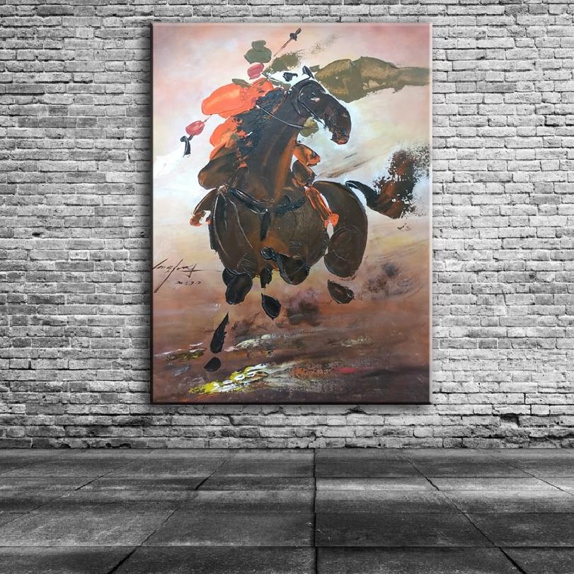 Нож рисунок картины украшение картины на заказ Оригинальный Картина маслом честность лояльности Hero китайский стиль 17122501 - 3