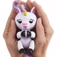 Finger Lings Interactive Baby Unicorn Finger Lings Smart Monkey Finger Unicorn Toys Colorful Smart Induction Toy