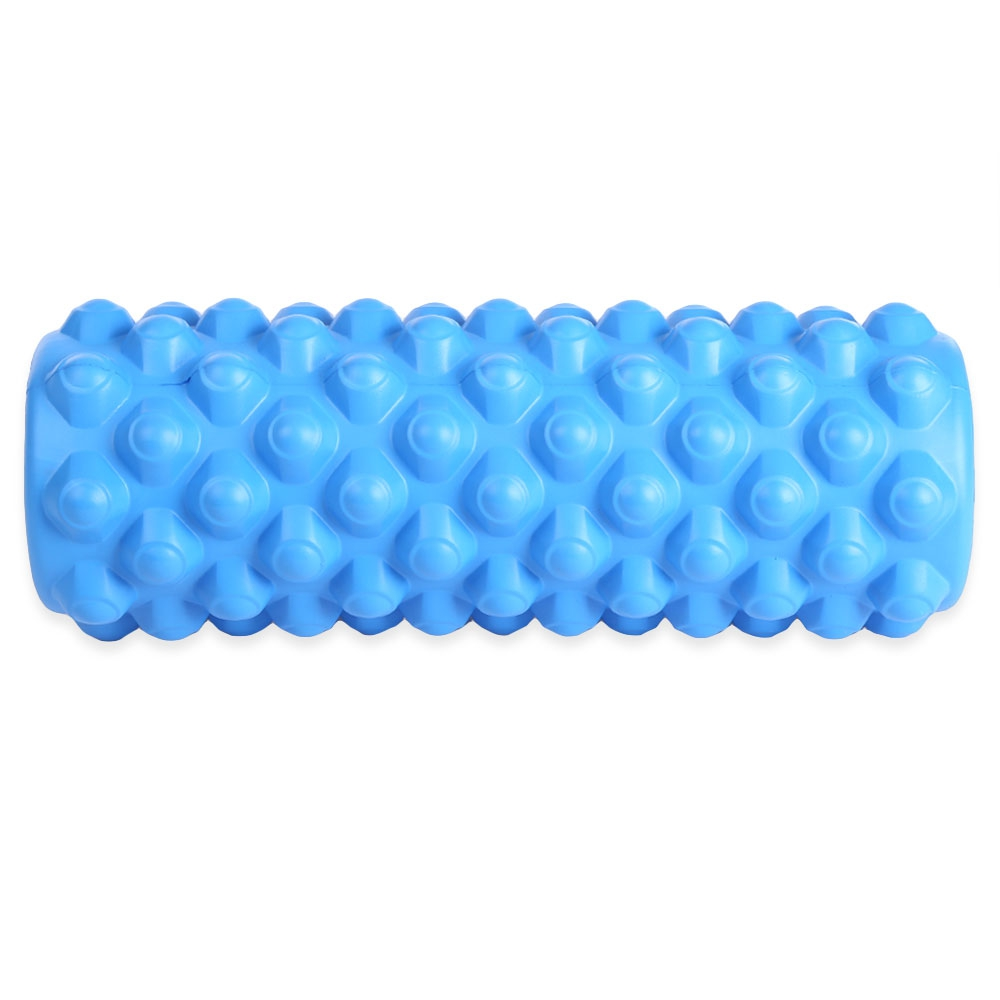 Free Shipping 35*13CM Yoga Pilates Column Roller with Grid Trigger Point Fitness Physiotherapy Rehabilitation цена