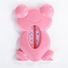 귀여운 아기 온도계 스케일 목욕 아기 유아 목욕을위한 귀여운 만화 개구리 특수 수위 온도계 도매