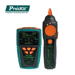 Pro'skit MT-7029-C анти-помехи аудио сети POE проверки линии сетевой кабель тестер для провода телефонной линии детектор трекер