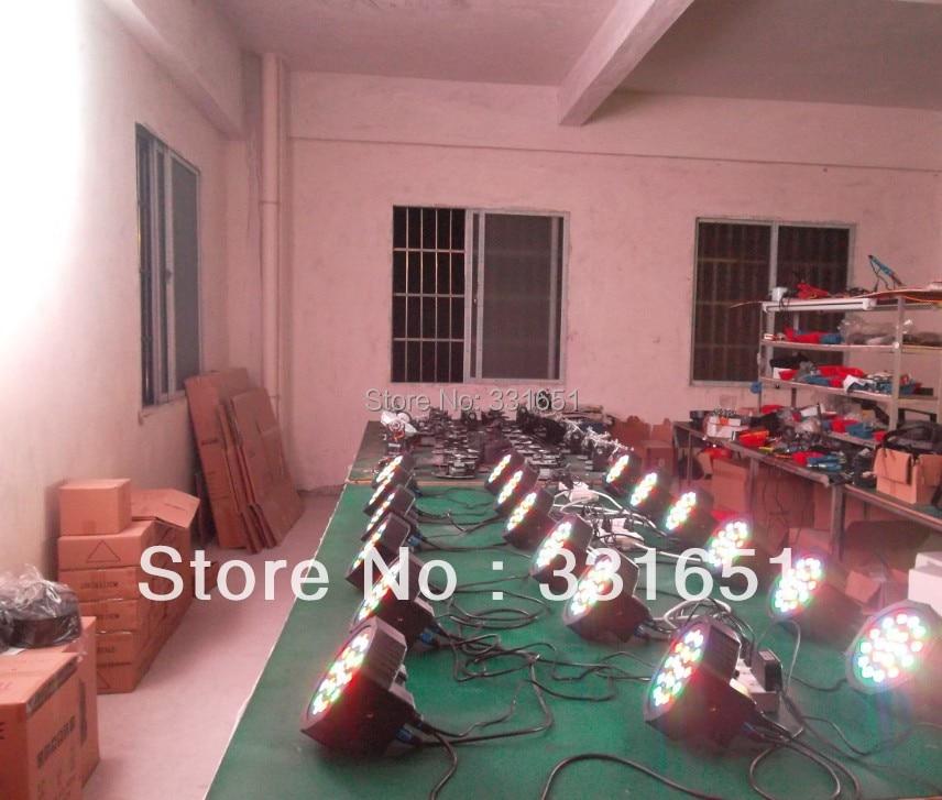 30pcs/lot 2013 Hot LED Par Light 19x3W RGB Stage Flat Wash Light DMX Par Can Lighting with 3/7 Channels Easy to use