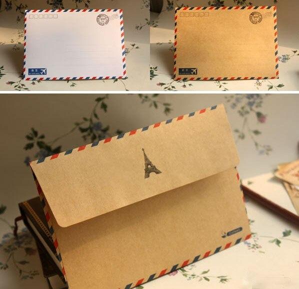 White Kraft Envelope 10pcs Gift Paper Envelope Postcard Greeting Card Envelopes