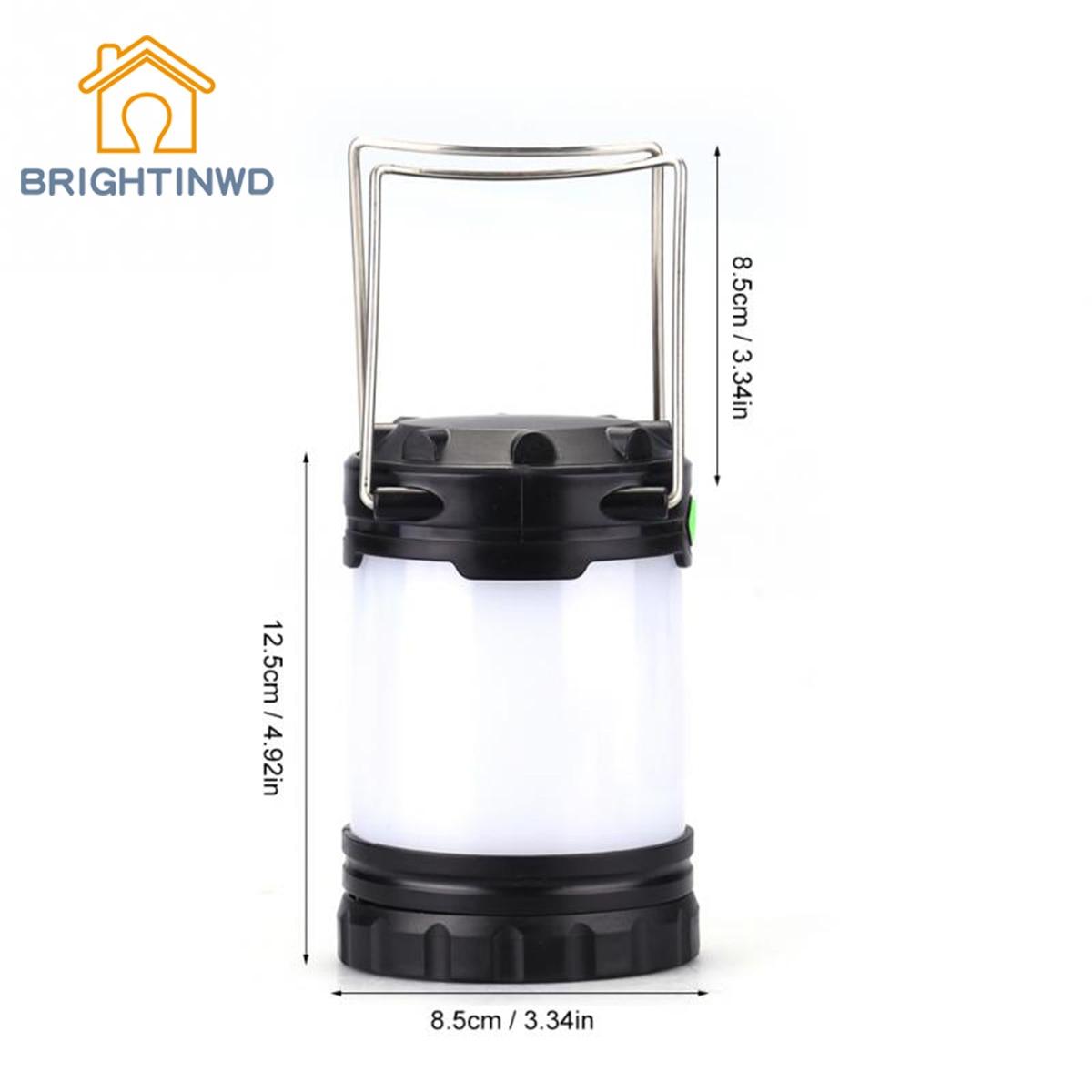 Portable Lantern Tent light Outdoor LED Camping Lantern Collapsible Lightweight Lighting Camping Lamp For Hiking Tent Lanterns