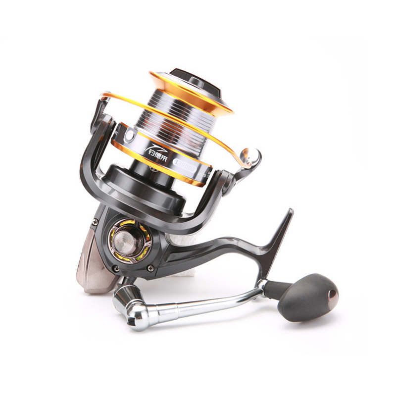 Super big Spinning Fishing Reel Metal Spool Long Casting Carp 5000-9000 Fishing Wheel For Fishing 5.1:1