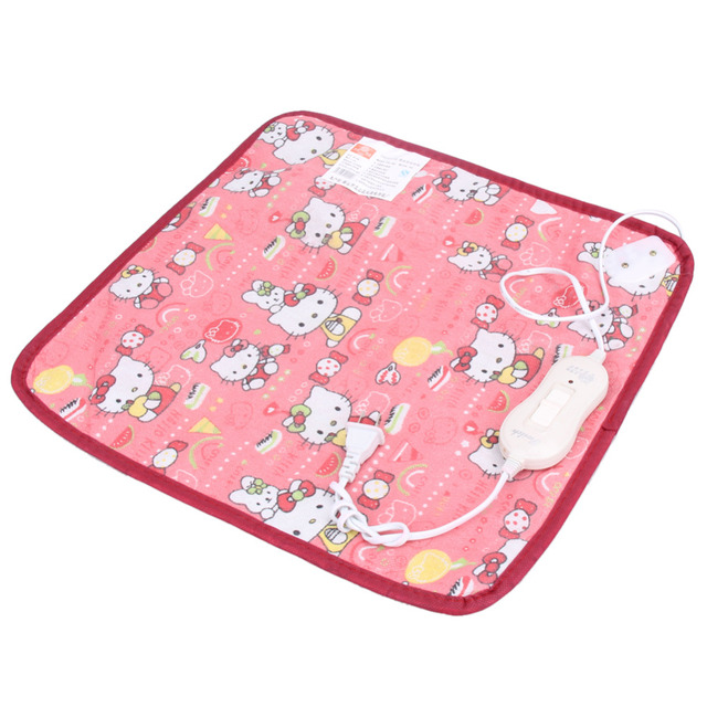 1 PC High Quality Pet Puppy Kitten Electric Heat Pad Dog Cat Bunny Heater Mat Blanket Bed 18W 220V~50HZ 40*40cm Color in random