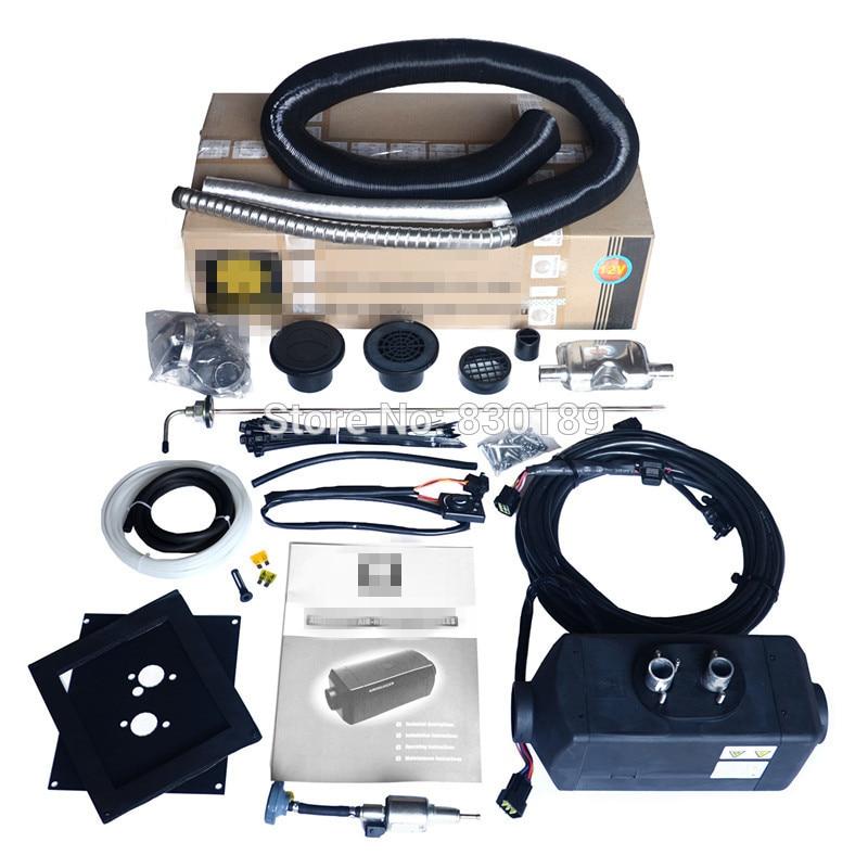 5KW Webasto 12V diesel heater for caravan bus Rv car ship boat, truck cab heater-replace Eberspacher D4, RV diesel heater 12V.
