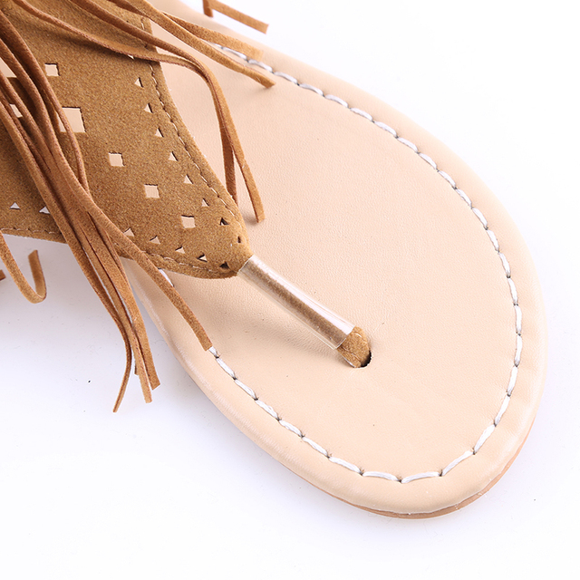 Tassel Summer Sandals