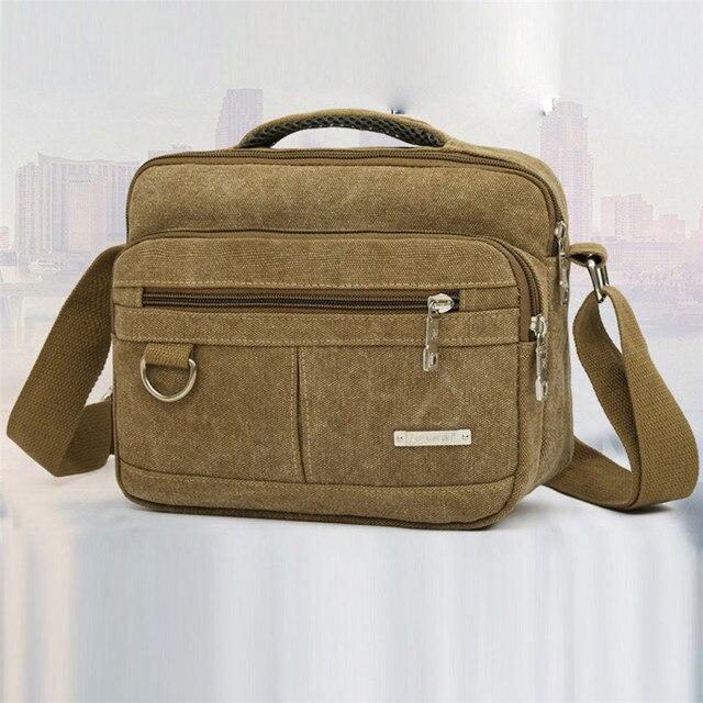 a6621b662d31 Мужская Холщовая Сумка повседневная дорожная мужская сумка sac основной  мужские сумки-мессенджеры сумки для мужчин
