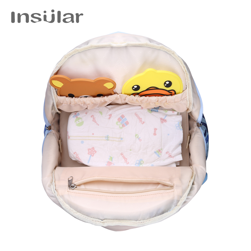 INSULAR Mother Mon Diaper Bag Large Capacity Maternity Mummy Nappy Backpack with Stroller Diaper Bag for Baby Care For Baby Care