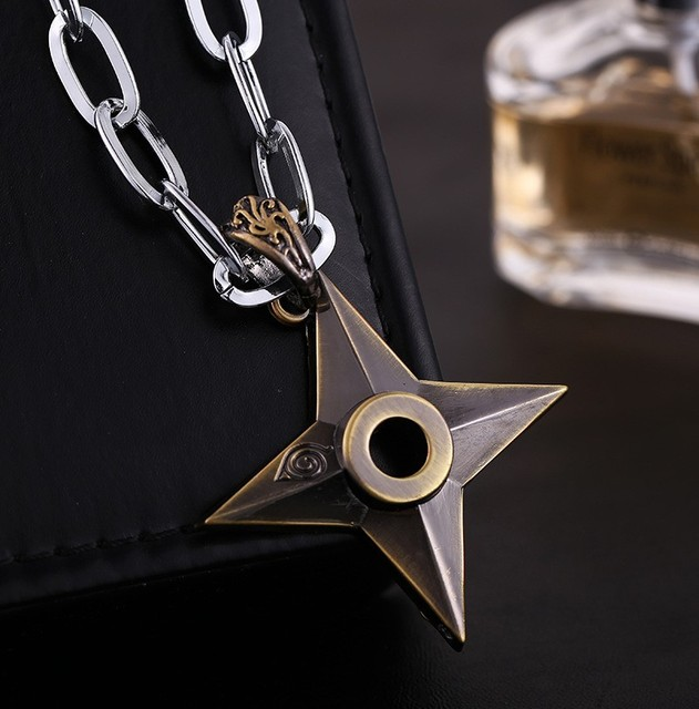Naruto Darts Necklaces With Stainless Steel Chains