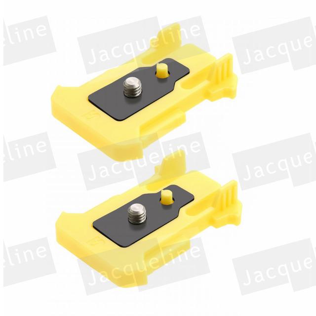 2 pc quick release fivela de conexão de montagem para sony ação cam as20 as200v as15 as30v fdr-x1000v w 4 k hdr-as100v hdr-az1 mini