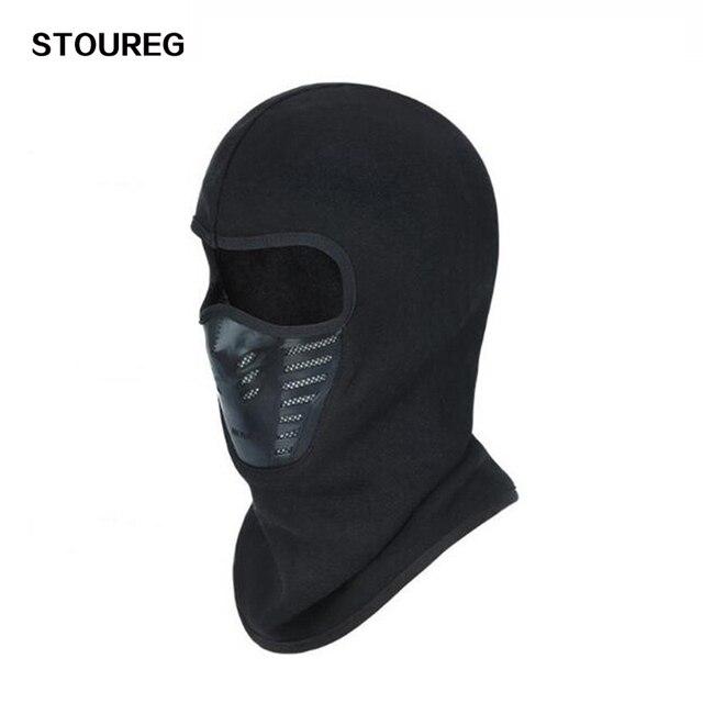 Windproof Cycling Face Mask, Winter Warmer Fleece Balaclavas Bike Bicycle Mask, Ski Snowboard Scarf, Neck Warmer 4 Colors