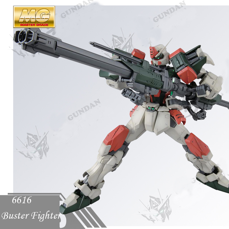 Daban Model Gundam Seed 6616 1:100 MG GAT-X103 Buster Fighter Storm Robot Action Figure Assembled Anime Character Z.A.F.T Japan model fans in stock daban gundam model pg 1 60 unicorn gundam phoenix self assambled robot 350mm toys figure