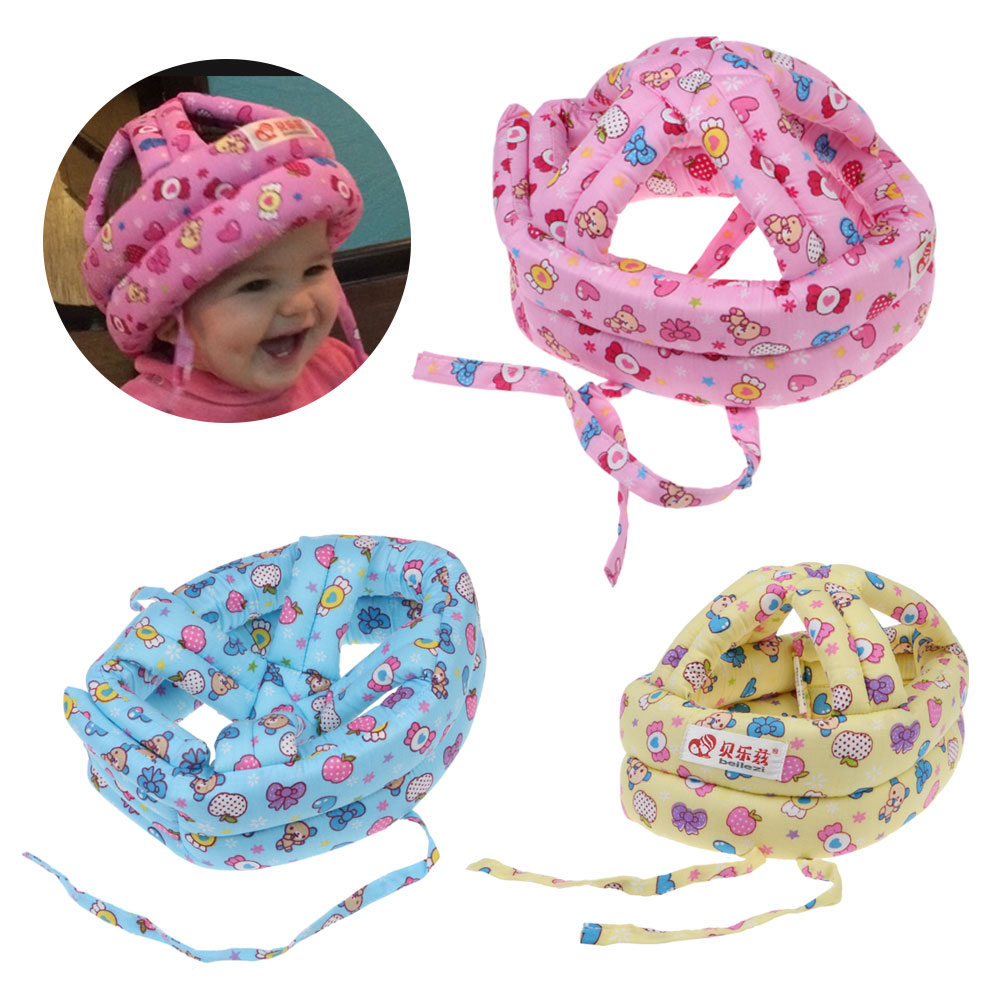Bayi Balita Ada Gundukan Lembut Keselamatan Helm Kepala Bantal Pelindung Aeproductgetsubject