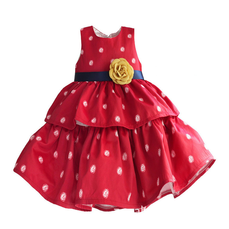 Baby Girl Dress New 2017 Silk Cotton Satin Red and White Dot Vest Princess Party Dresses for Toddler Kids Girls Outfits GDR241 акустика центрального канала heco elementa center 30 white satin