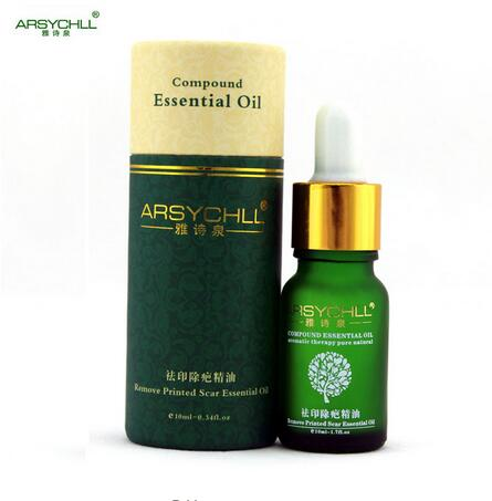 ARSYCHLL Essential Oils Acne Scar Removal Acne Spots Treatment Stretch Marks Whitening Repair Cells Skin Care
