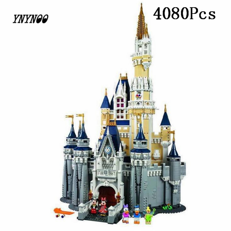 YNYNOO LEPIN 16008 Cinderella Princess Castle City Model Building Block Kid Educational Toys For Children Gift Compatible 71040 hot cinderella princess castle city model building block kid educational brick toy for compatible lepins christmas children gift