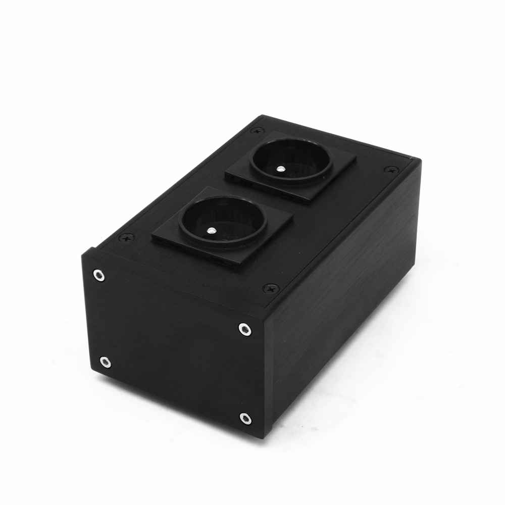 OU20 European filter power outlet Advanced Audio Power Purifier Filter 2500W 10A AC Power Socket for