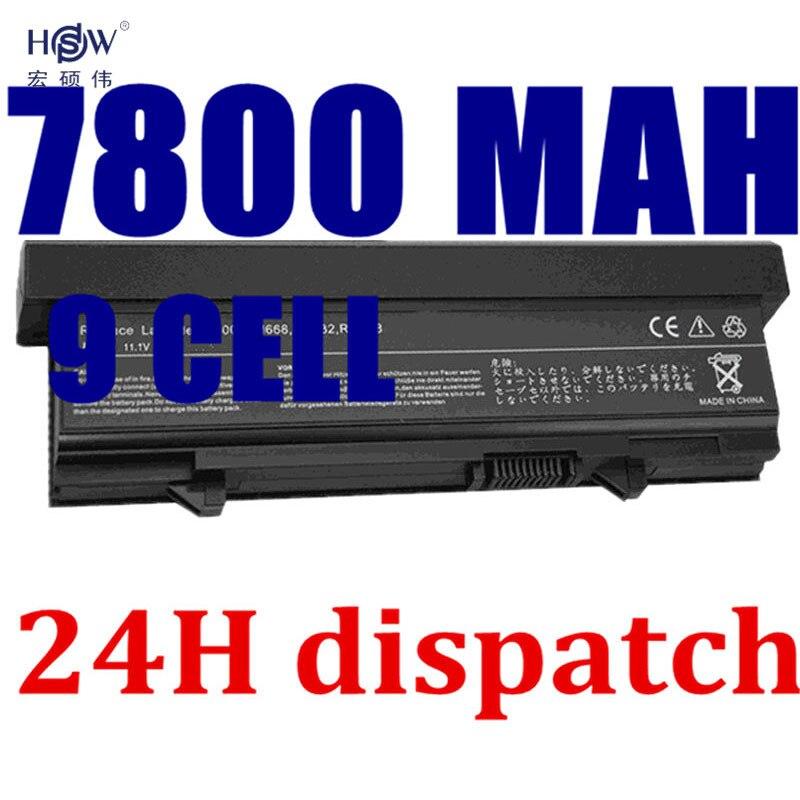 HSW 9cells quality Laptop battery for DELL Latitude E5400 E5500 E5410 E5510 KM742 KM752 MT186 MT187 bateria akku accu new laptop keyboard for dell latitude e5300 e5400 e5500 e5410 e5510 e6400 e6410 e6500 e6510 qwerty spanish espanol hispanic
