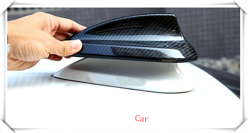 Carbon fiber Antenna Shark Fin Cover Trim 1pcs For BMW 7 SERIES G11/G12 2016 2017 2018 accessories car styling