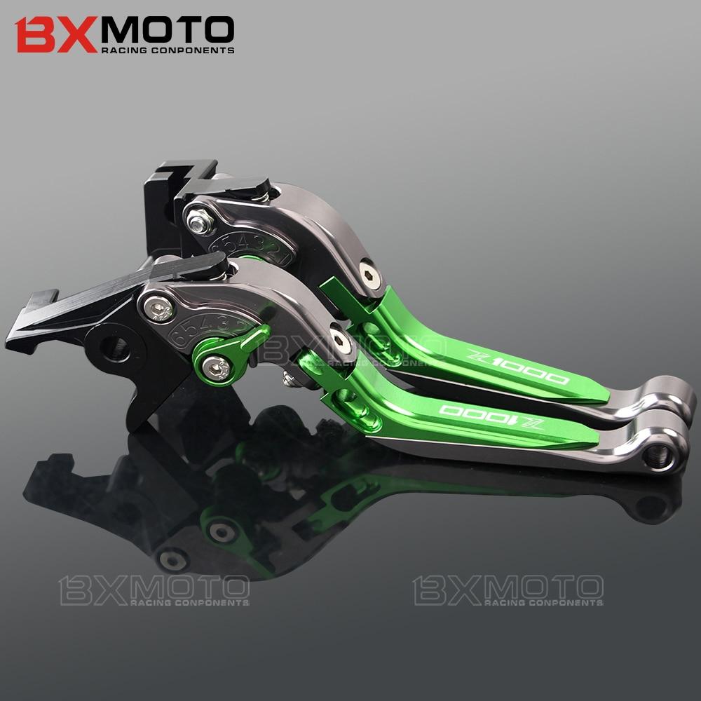 For kawasaki Z1000 SX Z1000SX NINJA 1000 TOURE Z 1000SX Motorcycle CNC Adjustable Folding Brake Clutch