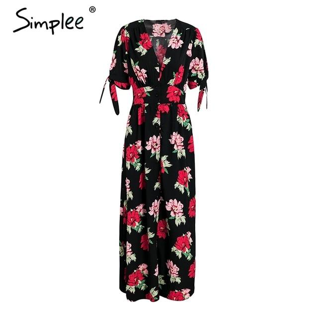 Floral Print Summer Dress...