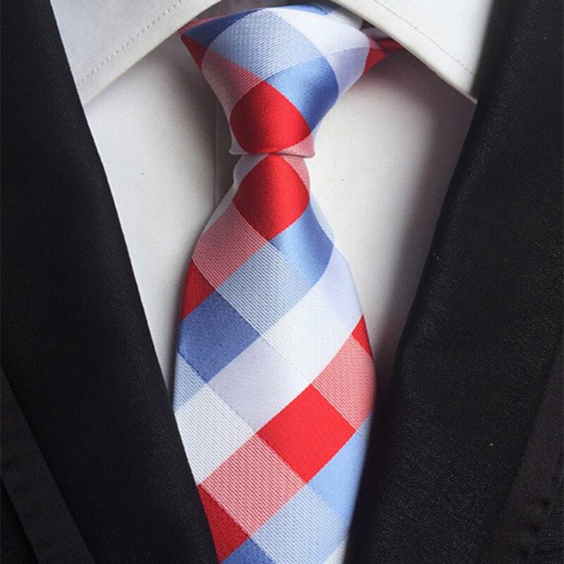 Mantieqingway Vīriešu segas kaklasaite kaklasaitei dzeltenā zilā kakla kaklasaites poliestera segas kakla kaklasaite Gravata vīriešu kāzu kaklasaites