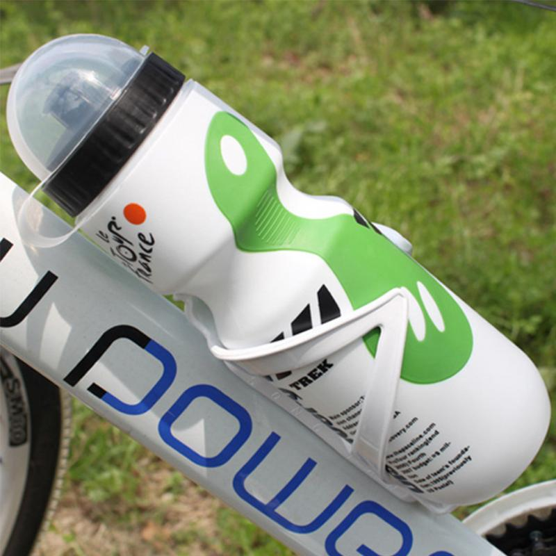 650ML Outdoor Sports Cycle Kettle Plastic Shaker Cups Jugs Water Drink Bottles for Mountain Bike Cycling Racing Bicycle Riding