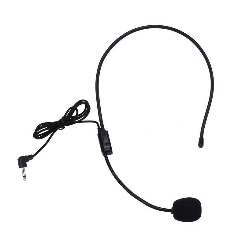 New Arrival 1pc 1m 3.5mm Stereo Wired Headset With Mic Multifunctional Headphone Microphone For Desktop PC Laptop