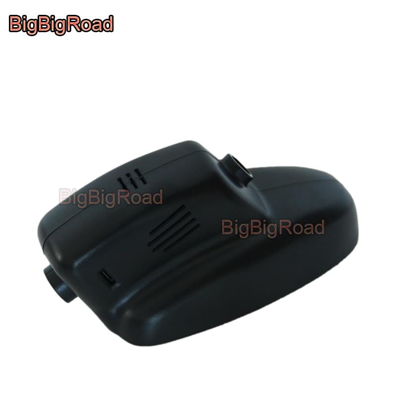 BigBigRoad Car DVR Wifi Video Recorder Dash Cam Camera For Jaguar XJ XF 2005 2008 2009