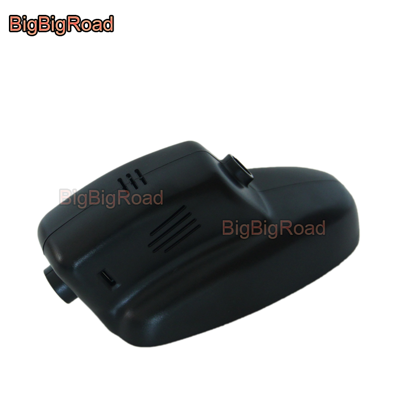 BigBigRoad Car DVR Wifi Video Recorder Dash Cam Camera For Jaguar XJ XF 2005 2008 2009 2010 2011 2012 2013 2014 2015 Black Box bigbigroad for volvo xc60 high configured 2009 2010 2011 2012 2013 2014 2015 2016 2017 car video recorder wifi dvr dash cam