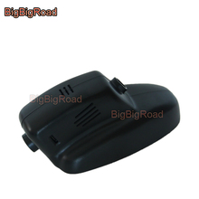 цена на BigBigRoad Car DVR Wifi Video Recorder Dash Cam Camera For Jaguar XJ XF 2005 2008 2009 2010 2011 2012 2013 2014 2015