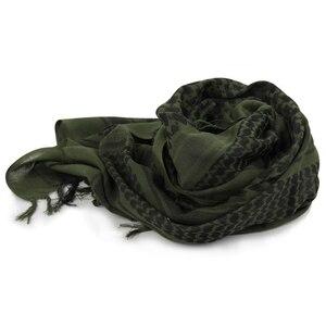 Image 3 - Voile militaire Shemagh, Hijab musulman épais, tactique multifonction, châle, écharpes arabes, Keffiyeh, mode pour femmes