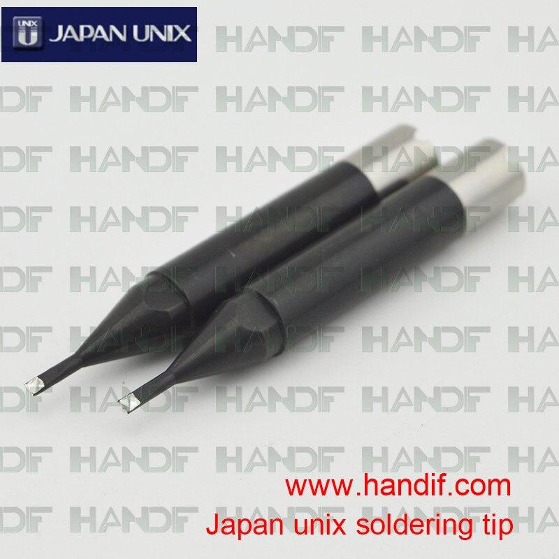 Japan UNIX P3D-S goot soldering iron tips 10 Piece japan goot repair tools ks 30r rapid thermal durable electric soldering iron input 220v power 30w