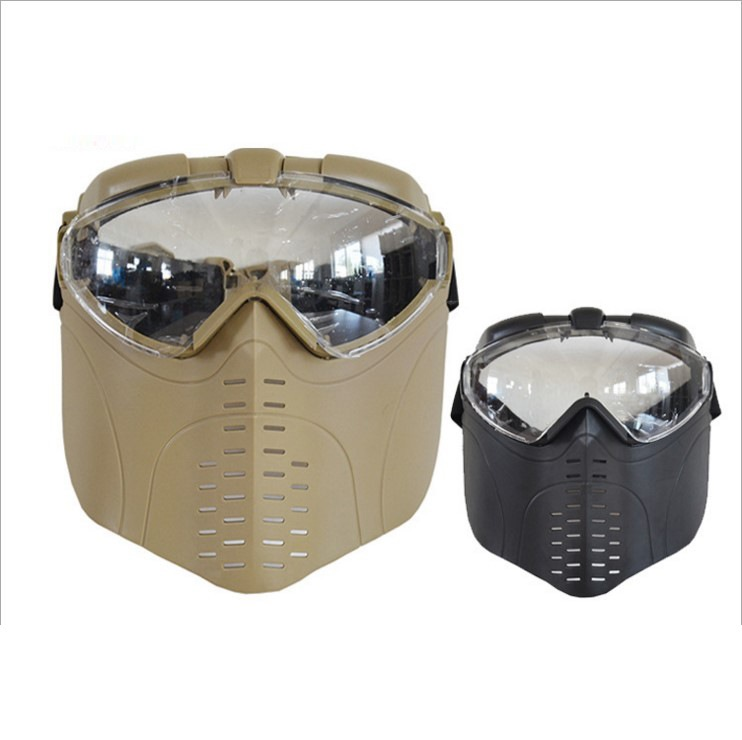 Airsoft Paintball Tactical Face Protection Skull Mask CS War BB Game MASK Safety Paintball Accessory