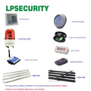 Image 5 - LPSECURITY ouvre porte coulissant étanche, automatique et télécommande, pour poids de 1800kg, pour porte coulissante, pour les opérateurs de porte